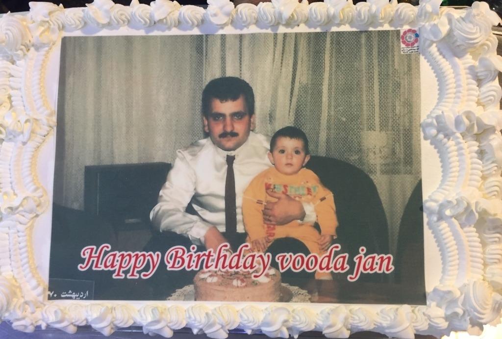کیک تصویری سایز A4